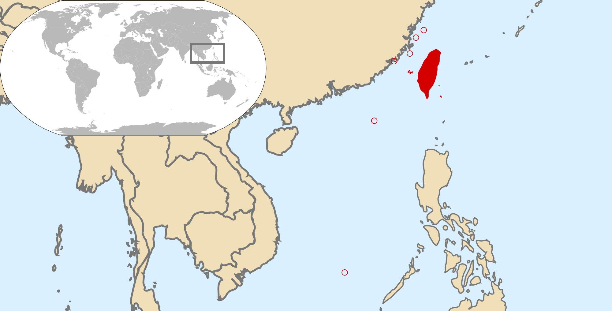 Taiwan location on world map world map showing taiwan eastern world map showing taiwan printprint systemupdatealtdownload gumiabroncs Choice Image